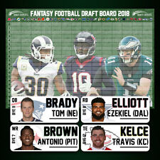 Fantasy Football Draft Kit 2018 - Fantasy Football Draft Board & Player Labels