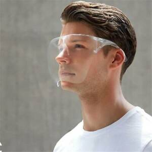 Transparent Face Cover Designed Fashion Style Comfort Face Shield Glasses