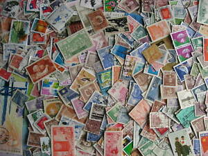 China & PRC 375 a triple sized elusive mixture (duplicates, mixed condition)