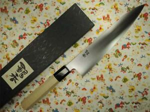 Ashi Hamano Ginga White Steel Wa-Gyuto Japanese Knife 240mm
