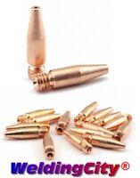 WeldingCity® 10-pk MIG Welding Gun Tapered Contact Tip 11T-45 for Lincoln Tweco