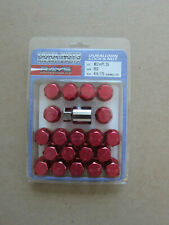 VOLK RACING / RAYS 35MM Short Lug Nuts 12 X 1.25  Acorn Type Seat  - Red Color