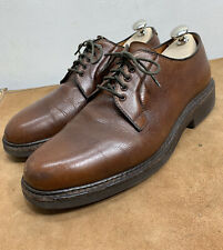 Alden 946 Pebbled Leather Blucher Oxfords Shoes Size 7 B/D Made In USA