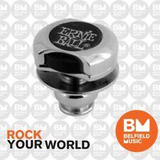 Ernie Ball 4600 Super Guitar Strap Locks CHROME Nickel Lock - Belfield Music