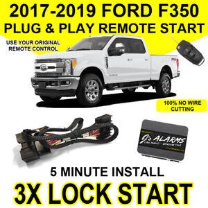 2017-2019 Ford F-350 Remote Start Plug & Play Easy Install F350 Super Duty FO2
