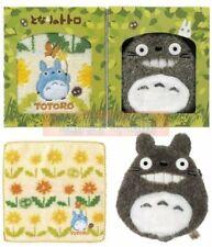 Studio Ghibli My Neighbor Totoro Gift Set Washcloth Face Towel and Totoro Plush