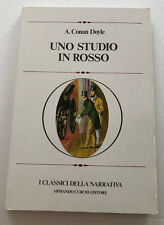 Uno Studio in rosso di A. Conan Doyle I Classici della narrativa 1978