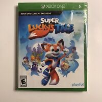 Super Lucky's Tale (Microsoft Xbox One, 2017) Brand New!!