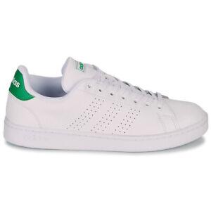 Scarpe ragazzo ragazza donna Adidas Advantage bianco verde mod.stan smith tennis
