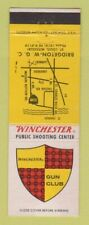 Matchbook Cover - Winchester Shooting Center St Louis MO Gun Club