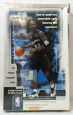 2002-03 Upper Deck MVP NBA Basketball Trading Cards Factory Sealed Box