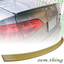 IN STOCK USA Unpainted AUDI A4 B8 Sedan D Style Rear Trunk Spoiler Wing 2012 ABS