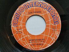 """LOS TRINOS - Inseparables / Que Le Maten Pollo 1974 LATIN CUMBIA 7"""" Sonido"""