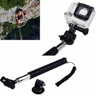 Monopod Handheld Extendable Selfie Stick Telescopic GoPro Camera HERO 5 4 3+ 3 2