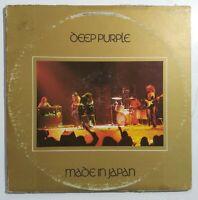 Tested- Deep Purple Made In Japan Vinyl Double LP 1973 Warner Bros 2WS 2701
