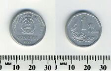China, People's Republic 1999 - 1 Jiao Aluminum Coin - Flower