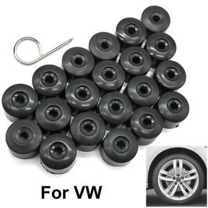 20pc Car Wheel Nut Bolt Screw Cap Water Proof Cover With Tool For VW Beetle CC