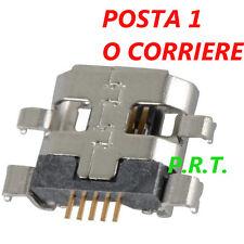 CONNETTORE RICARICA (2pez Micro Usb per Asus Zenfone 5 K008 A500 A500CG Nexus 7
