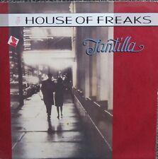 HOUSE OF FREAKS TANTILLA LP German Virgin VGC 13 Lyric Inner 1989 Excellent