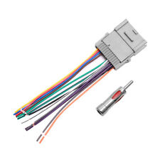 Car Stereo Radio Wiring Harness Antenna for 2000-up Buick Chevy GMC Pontiac