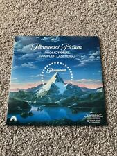 PARAMOUNT PICTURES PROMOTIONAL SAMPLER LASERDISC