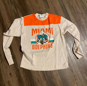 1980s Miami Dolphins Shirt NFL Football All Sport Florida Dan Marino jersey VTG