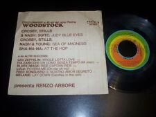 "Various – Woodstock E Da Altri Successi 7"" RI FI RFE 15524 Led Zeppelin - CSNY"