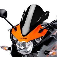 HONDA CBR 125 R 2011 > PUIG DOUBLE BUBBLE SCREEN BLACK RACING WINDSCREEN