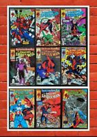 Lot of 9 Amazing Spider-Man #317-323,325,328 *NM 9.2-9.6 *ALL Todd McFarlane*