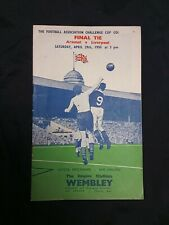 More details for fa cup final programme 1950 arsenal v liverpool