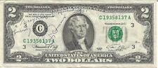 Jimmy Demaret Autographed $2 Bill - JSA Authenticated  Full Letter