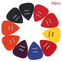 10Pcs 0.96MM Plettri Acustici Colorati Accessori Plettro per Chitarra Elettrica