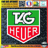 Stickers autocollant Tag heuer sponsor tuning motorsport rally decal sport