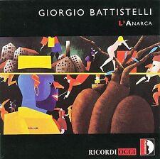 GIORGIO BATTISTELLI: L'ANARCA NEW CD