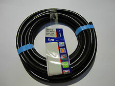Anschlusskabel 5m H05VV-F 3G 1,5mm² , schwarz, Rev-Düwi