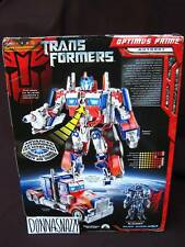 TRANSFORMERS ANIMATED TFA ROTF OPTIMUS PRIME TFTM LEADER CLASS LC MOVIE DOTM