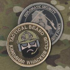 US EMBASSY BAGHDAD/KABUL STATE DEPT WPS CONTRACTOR PRO-TEAM DPU 2-VELCRO-SSI SET