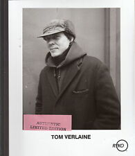 tom verlaine limited edition press kit