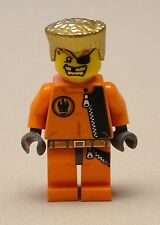NEW Lego Agents Minifig GOLD TOOTH Minifigure Guy w/ Gold Hair 8967 8630