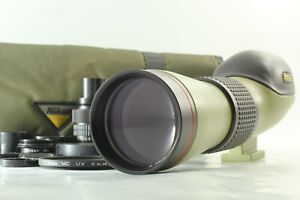 [NEAR MINT w/Case] Nikon Fieldscope ED D=60 P w/ 20-45x 60x Eyepiece From JAPAN