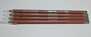 4 PACK LOT Jordana Kohl Kajal Lip Liner pencil .048 Oz HONEY New