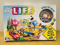 The Game of Life Board Game Kids Card Family Game Complete