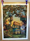 "Amos Lee 2020 Quarantine Tunes Landland Poster 18 x 24"" Dan Black Jes Seamans"