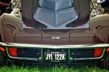 Chevrolet Corvette Sports Motor Car Auto Vehicle Photograph Picture Print