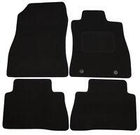 For Nissan Juke 2010On Fully Tailored Black Carpet Car Mats