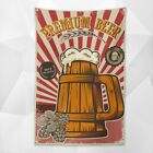 PREMIUM BEER! Beer Day Poster Bar Wine Cellar Home Decor Wall Art Banner Flag photo