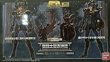 Used Bandai Saint Seiya Myth Cloth Black Swan & Black Dragon PVC From Japan