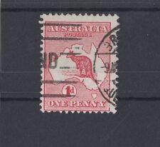 1913 Australia 1d red Roo SG 2, Die 1 inverted wmk, used