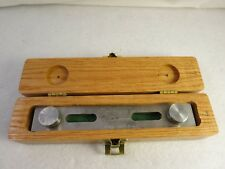 "Taft Peirce 5"" Commercial Sine Bar W/ Wood Case"