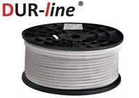 DUR-line DUR 110-100 Koaxialkabel 100m SAT-Digital Kabel 7mm 4-fach geschirmt